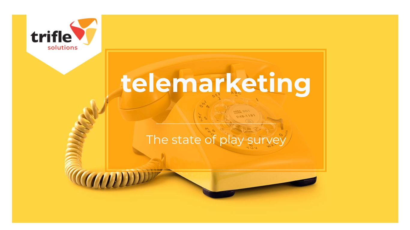 telemarketing survey report